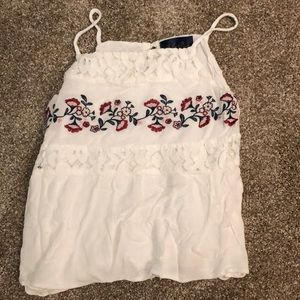 Women's Embroidered Tank